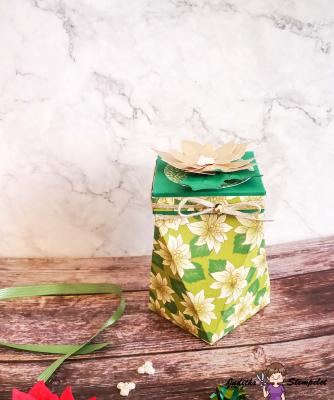 Verpackung für Weihnachtsgeschenk