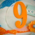 Geburtstagskarte zum 09.