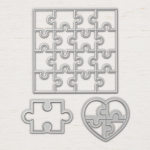 Thinlit Set Puzzleteile