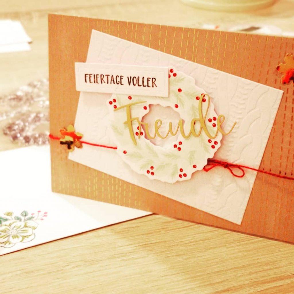 Meine Kartenversion mit dem Paper Pumkin Set
