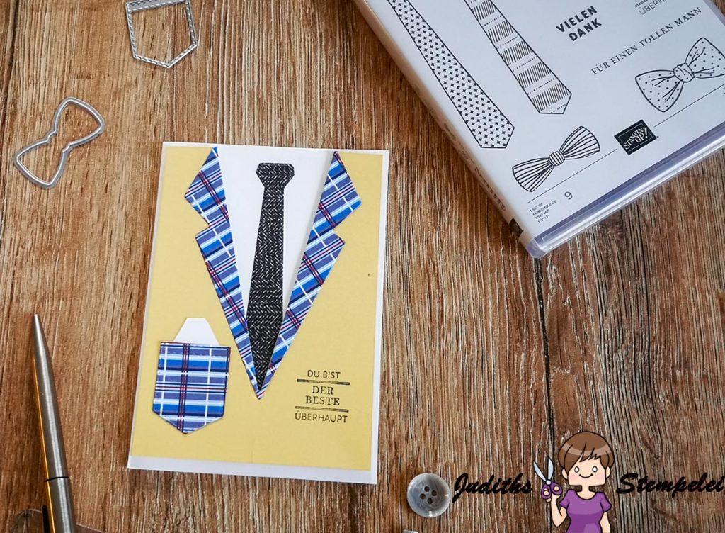 """Meine erste Karte mit dem Produktpaket """"Das Beste"""" aus der Produktreihe """"Wie Maßgeschneidert"""""""